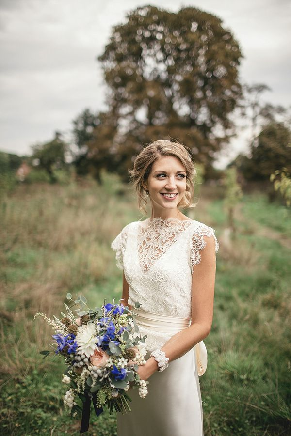 A Sweet September Wedding With A Touch of 1930\'s Glamour, Pom Poms ...