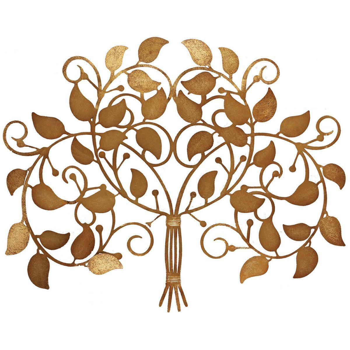 Family harvest metal tree wall décor metal trees pinterest