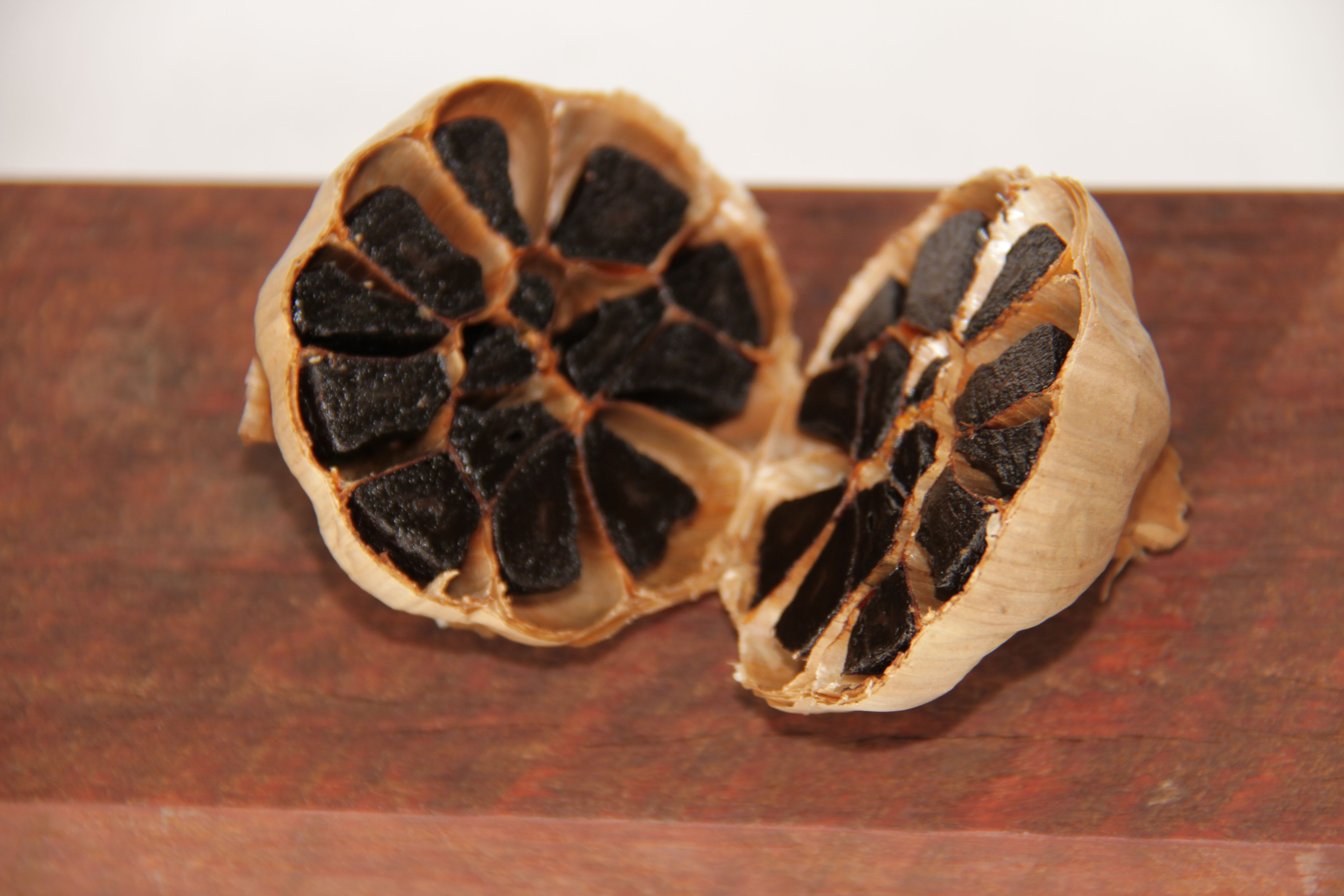 Glorious black garlic from Garlicious Grown