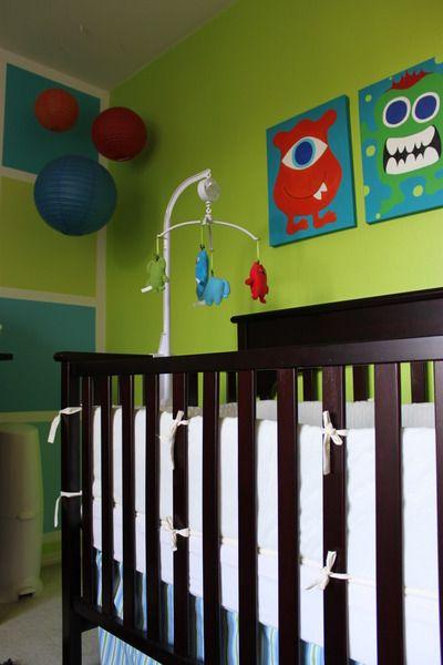 Monster Nursery Baby Rooms