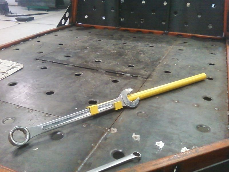 The Wrench Breaker Homemade Tools Garage Tools Diy