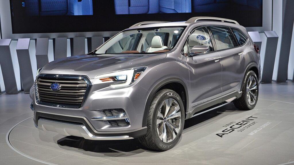 2022 Subaru Ascent Should Include Plenty Of Improvements Subaru 3rd Row Suv New Suv