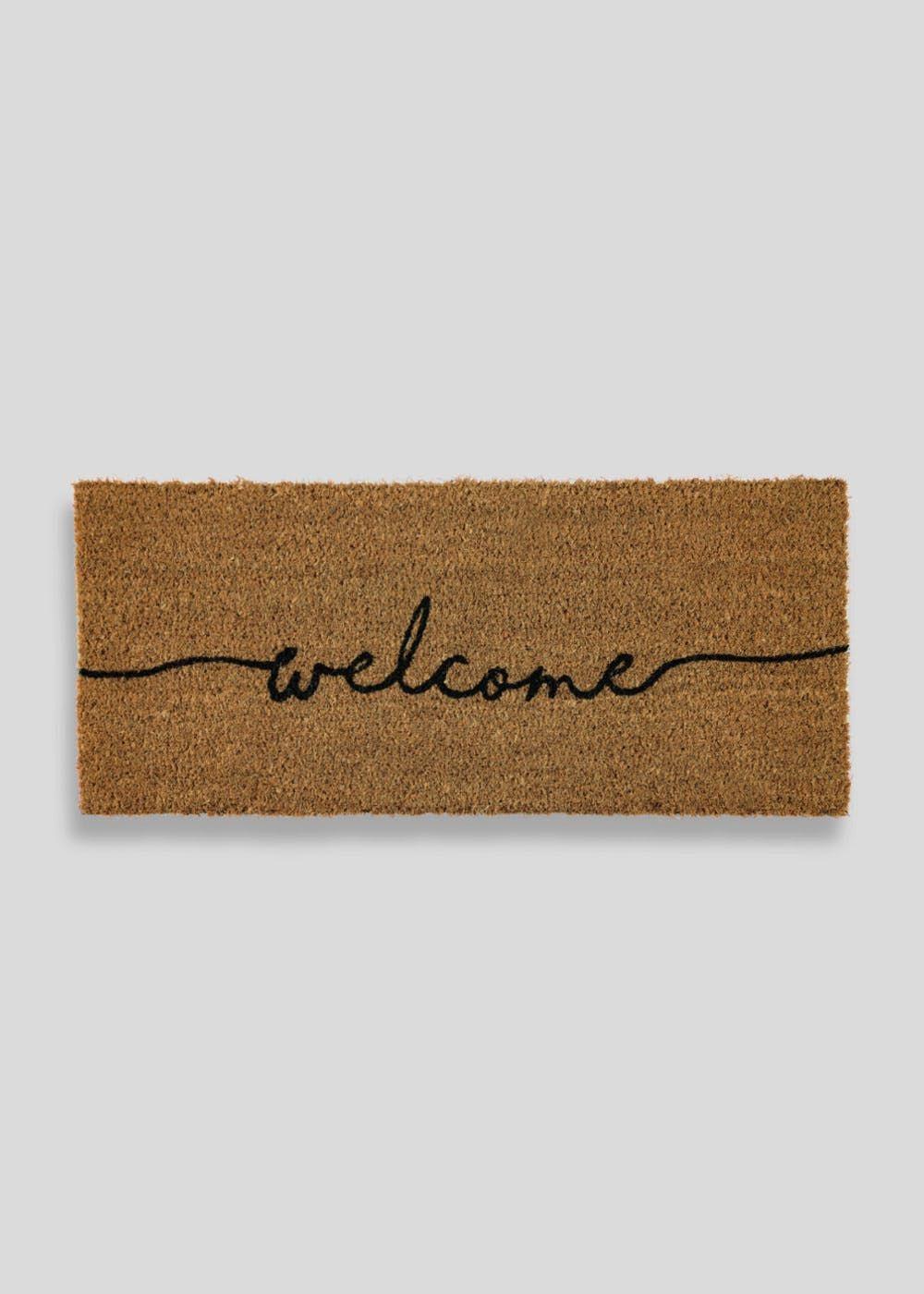 Welcome Doormat (60cmx 40cm) | Doormat, Neutral and Attic