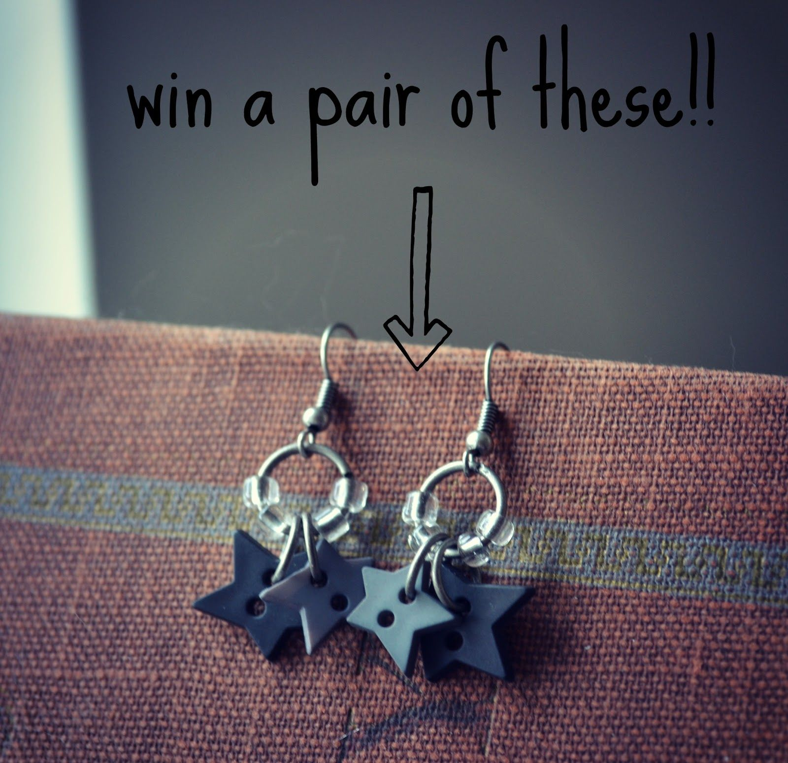 Win a pair of these earrings!