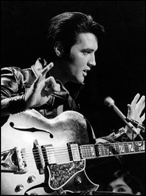 Elvis Presley...  King of Rock 'n Roll