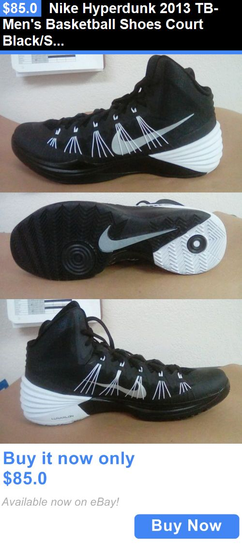 ... basketball: nike hyperdunk 2013 tb mens basketball shoes court  black/silver buy it now ...