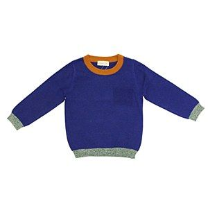 Simple Royal Blue Pullover