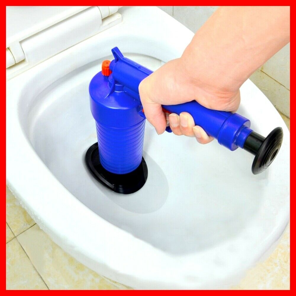Toilet Plunger Strong Blaster Sewer Pipeline Cleaning Rubber Nozzle Pneumatic None Hydroblast Plunger Cleaning High Pressure