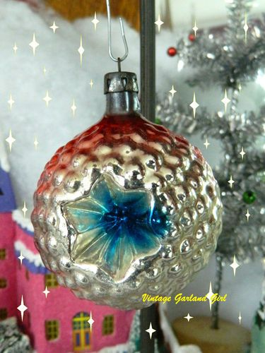 RARE Vintage Antique Christmas Ornament Bumpy Indent | eBay ...