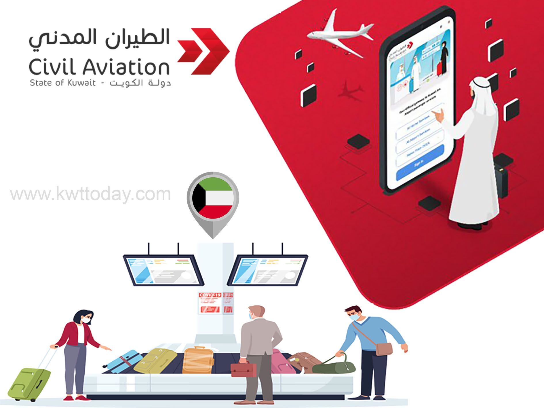 'Kuwait Mosafer' app launched by DGCA for all travellers