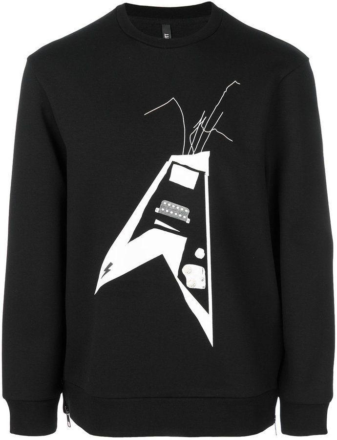 2b7c334c98 Neil Barrett Thunderbolt World Tour sweatshirt | Products ...