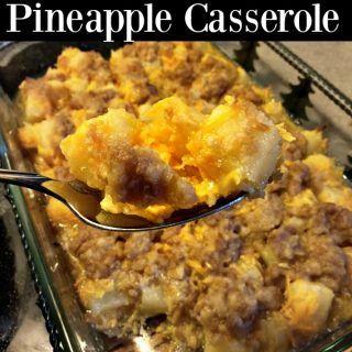 Paula Deen Pineapple Casserole | Recipe | Pineapple ...