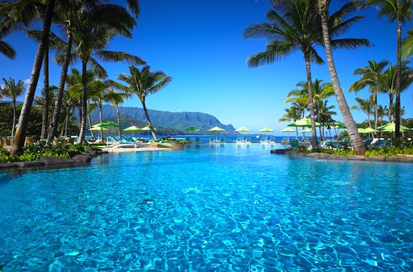 St Regis In Kauai Vacation Places Places To Travel Beach Hotels