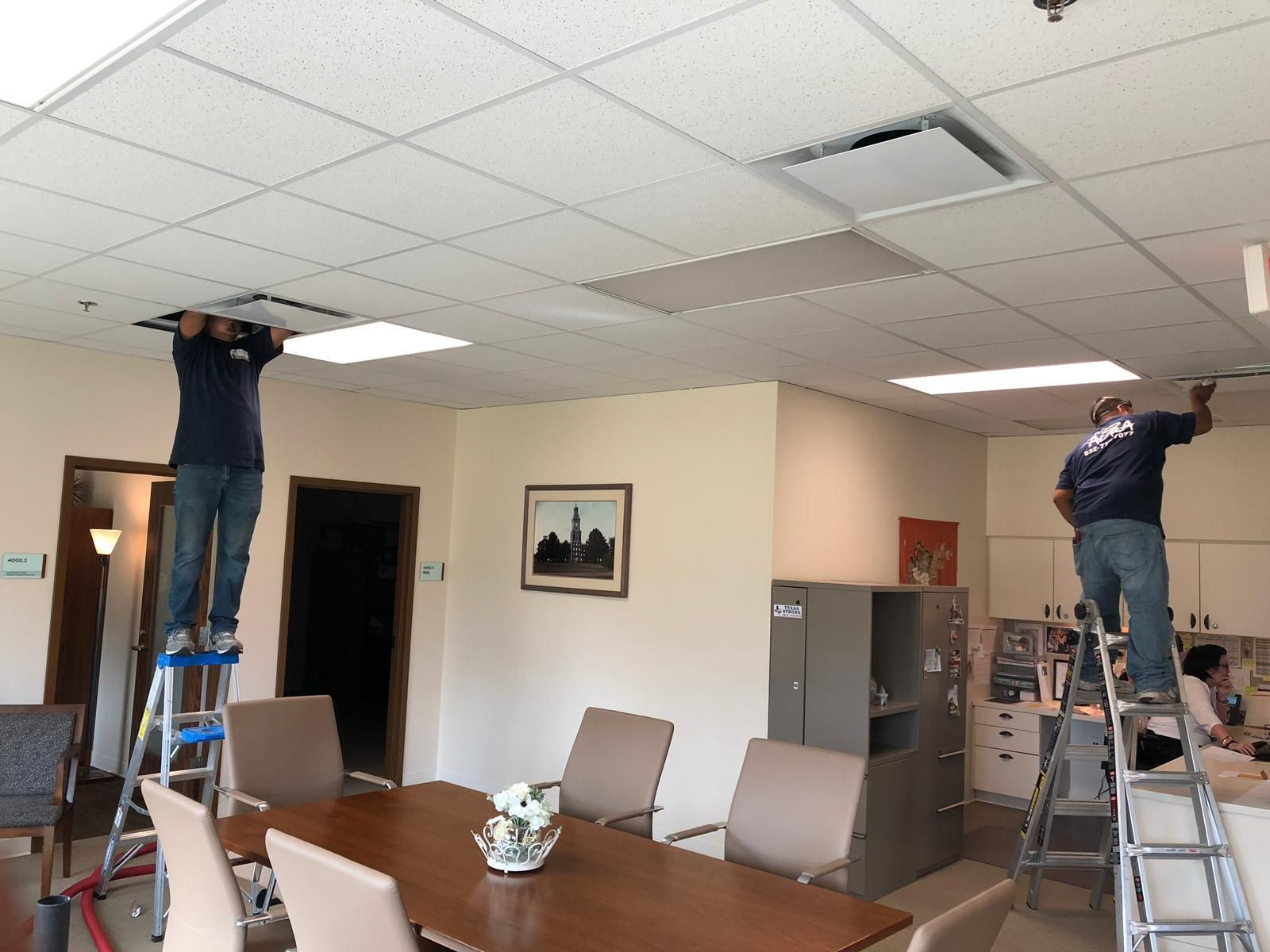 Aura Air Duct Cleaning technicians are always ready for