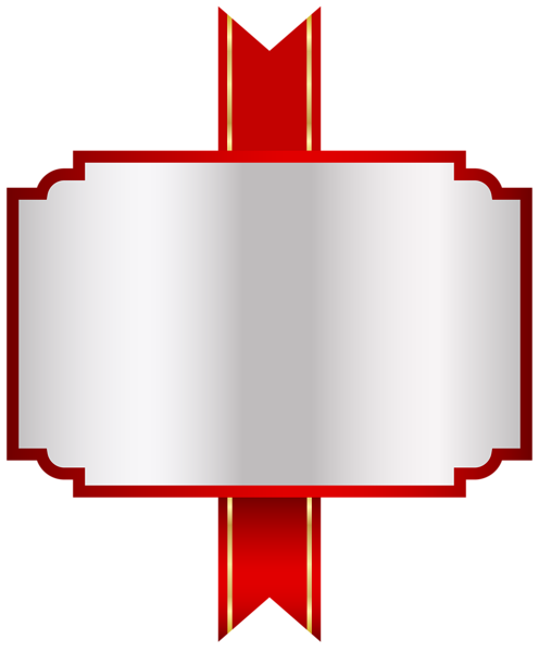 Red White Label Png Clip Art Image Elemente