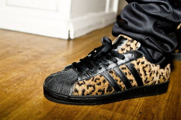 pretty nice e1d67 c955d The Big Sean x adidas Pro Model Snakeskin and the Superstar ...