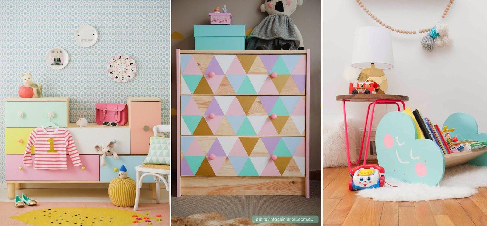 9 Ideas Para Intervenir Muebles Infantiles M S Chicos Deco  # Sonar Con Muebles Gigantes