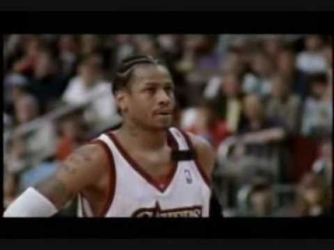 """""""He doesn't move like anything we know. It's a freaking nature"""". Allen Iverson, one of the greatest. The Ankle Breaker."""