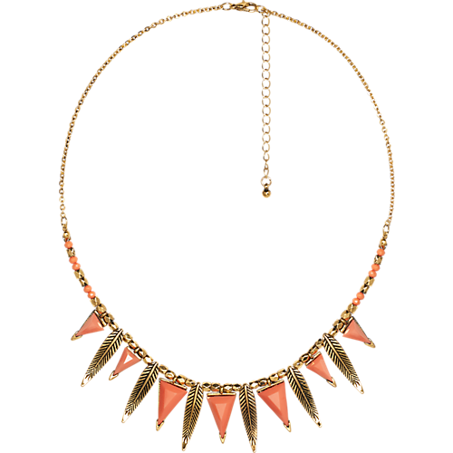 Ketting,  Feather Necklace - The Sting