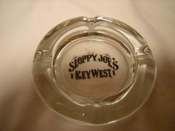 vintage ashtray Sloppy JoeKey by 1stFloorAttic on Etsy, $5.00