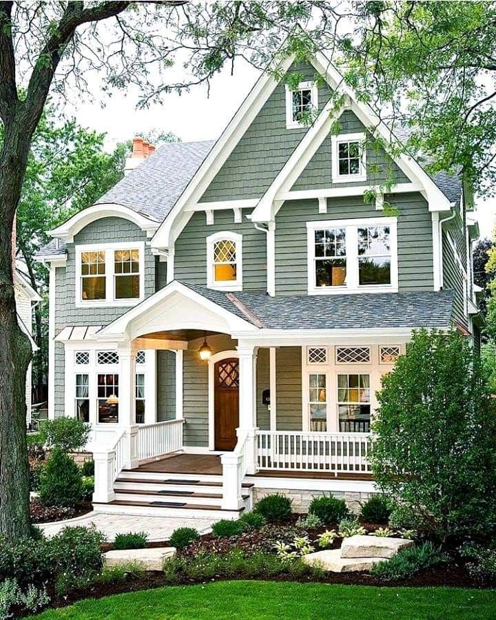 Exterior Home Colors 2019: Architecture In 2019