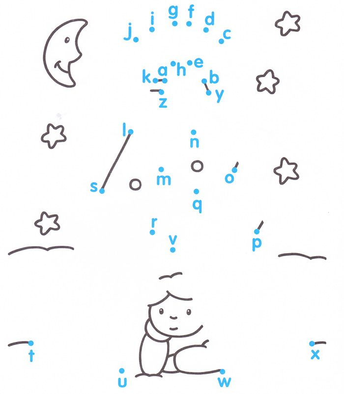 Dots to dots game, Connect the Dots games, free printable ...