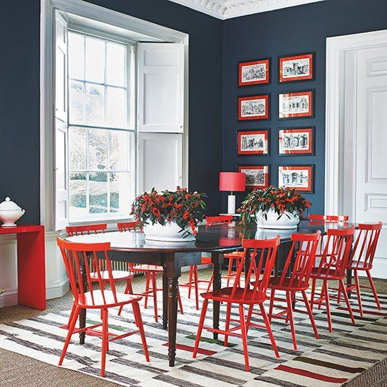 1 Housetohome Housetohome  Twitter  Homefront  Pinterest Fair Grey And Red Dining Room Inspiration