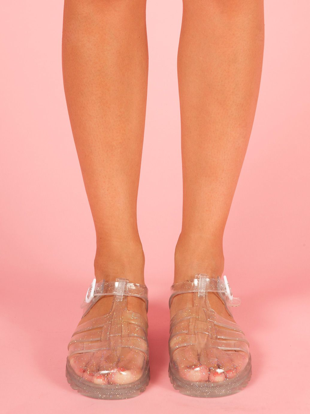 American Apparel - Juju Maxi Jelly Sandals. When not at work 08d1425a735c