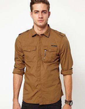 Diesel Shirt Siranella Military Style