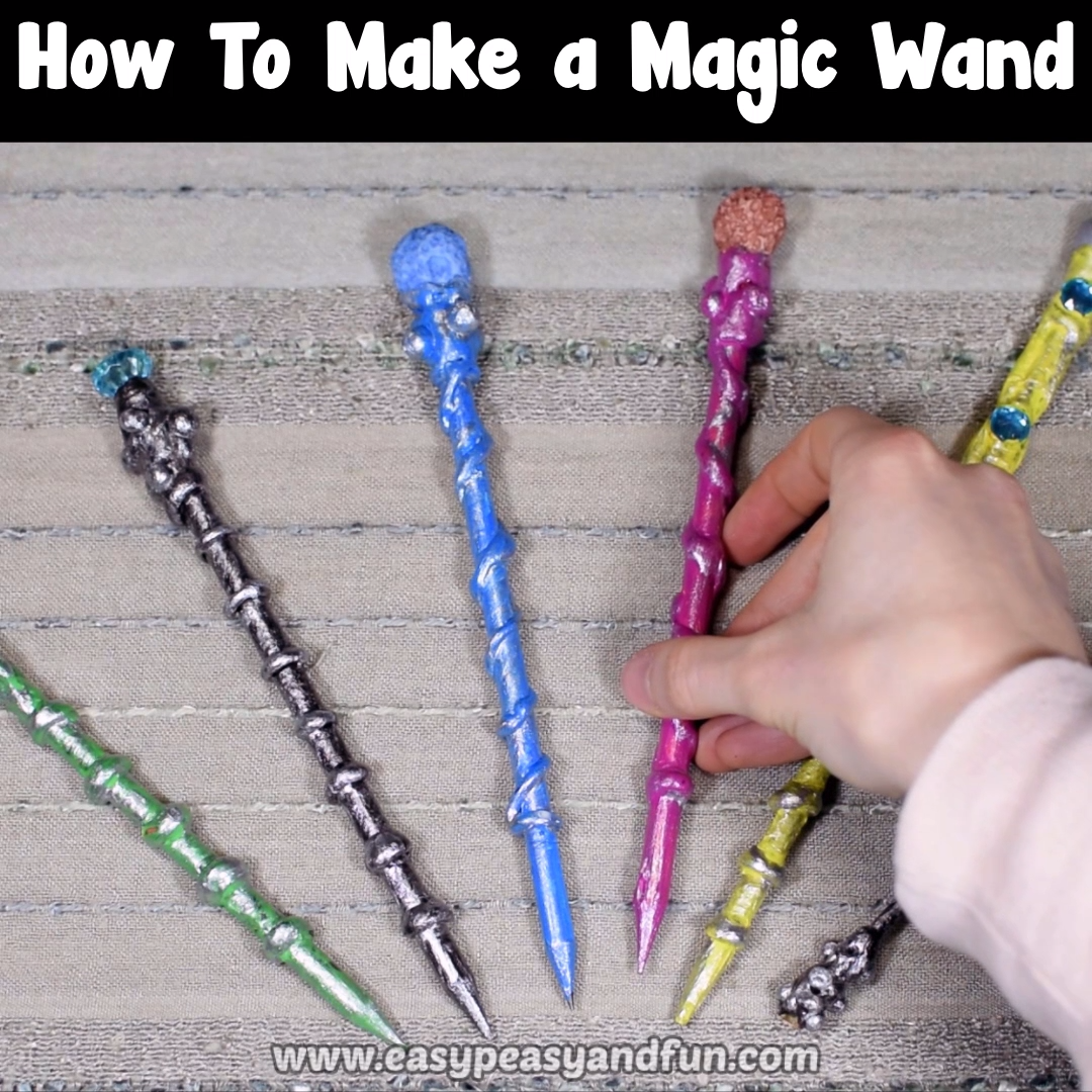 How To Make A Magic Wand – Diy Magical Wands Craft #5minutecraftsvideos
