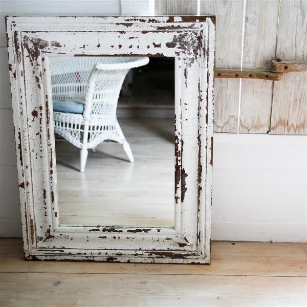 espejo craquelado vintage