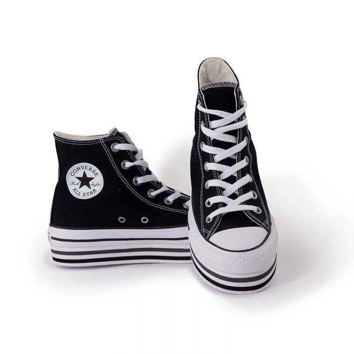 2converse all stars platform nere