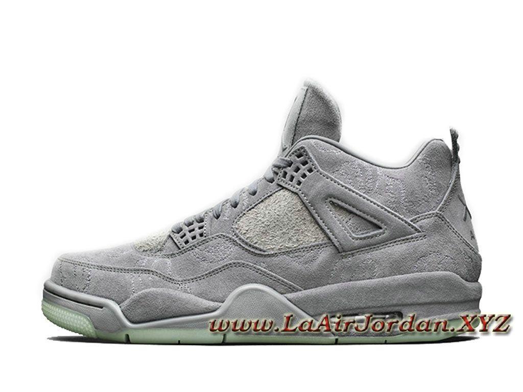 homme kaws x air jordan 4 retro cool grey 930155 003 jordan 2017 pour chaussures gris 1704090069 hom