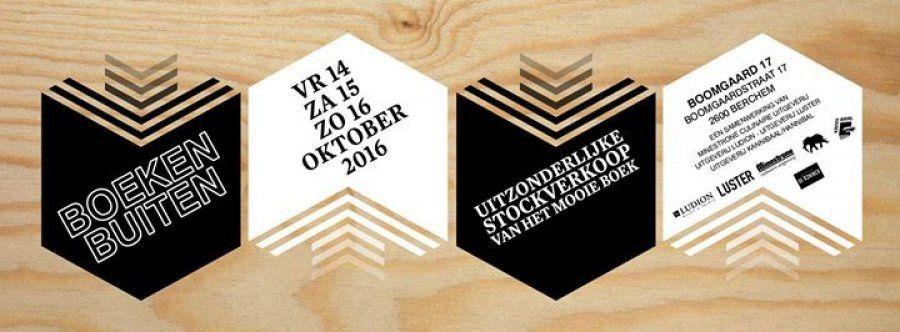 Stockverkoop Boeken Buiten  -- Antwerpen -- 14/10-16/10