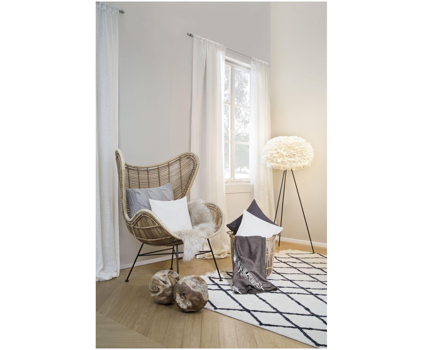 AFFILIATELINK | Rattan Sessel Egg, Skandinavisches Design, Minimalistische  Einrichtung, Deko, Schlichte