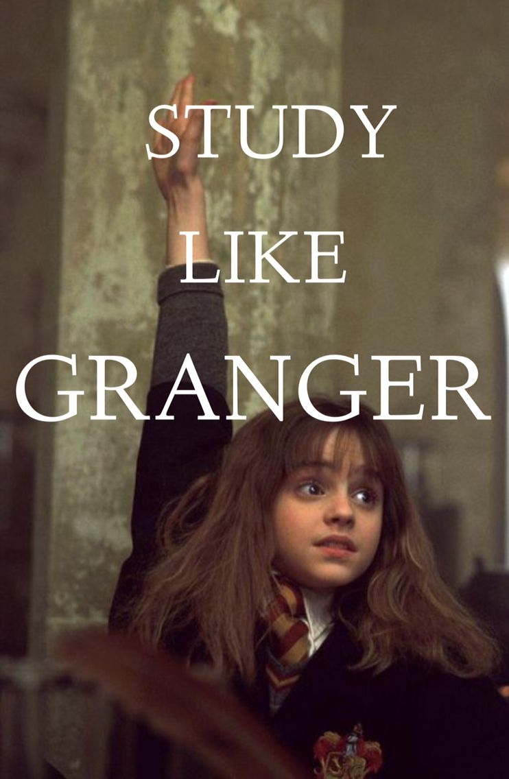 Study Like Granger Hermione Harrypotter Hermione Granger