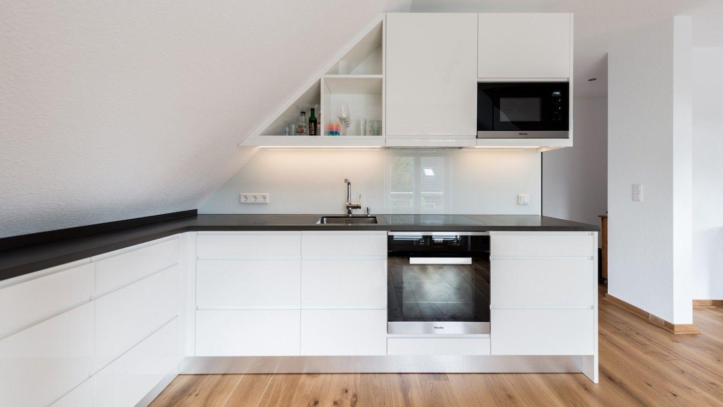 küche dachschräge von simone ziegler auf küche  küche