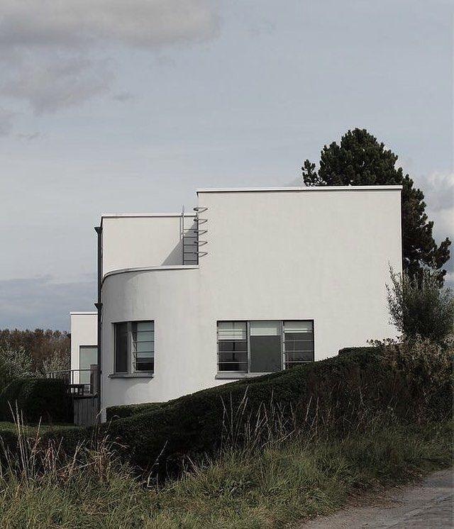 Home By Florimond Vervalcke For Painter Floris Jespers 1934 Bauhaus Architecture Architecture Architectural Inspiration