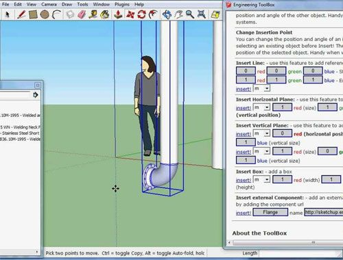 How To Use Sketchup Engineering Toolbox Sketchup Engineering