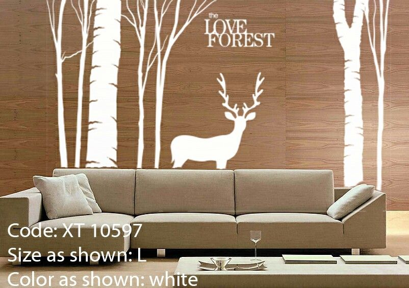 wild view wall decal | bedroom wall decal | pinterest