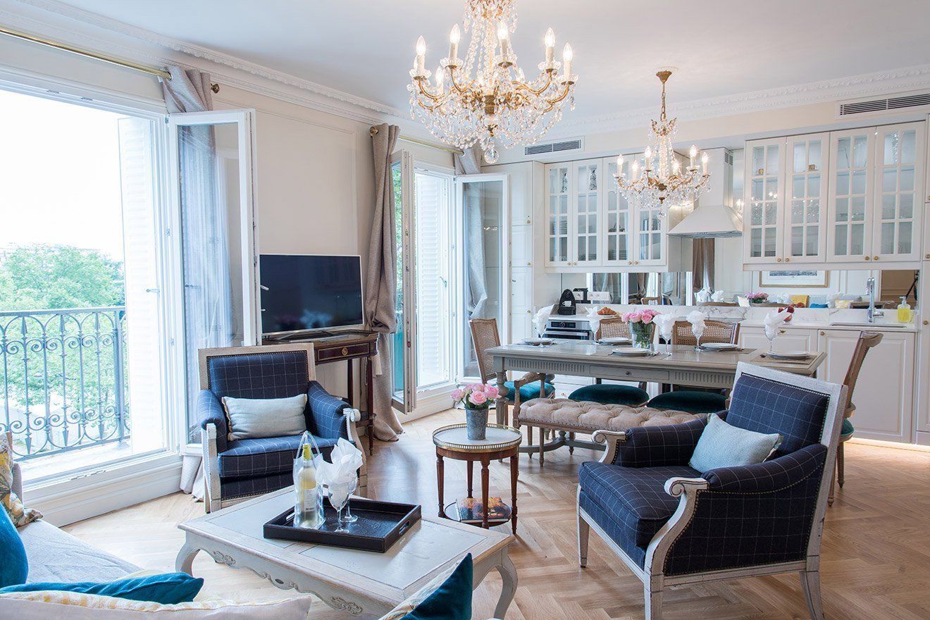 bedroom paris apartment near eiffel tower with ac paris perfect