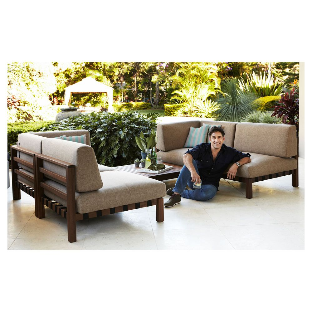 Patio By Jamie Durie Fremantle Modular Corner Chair