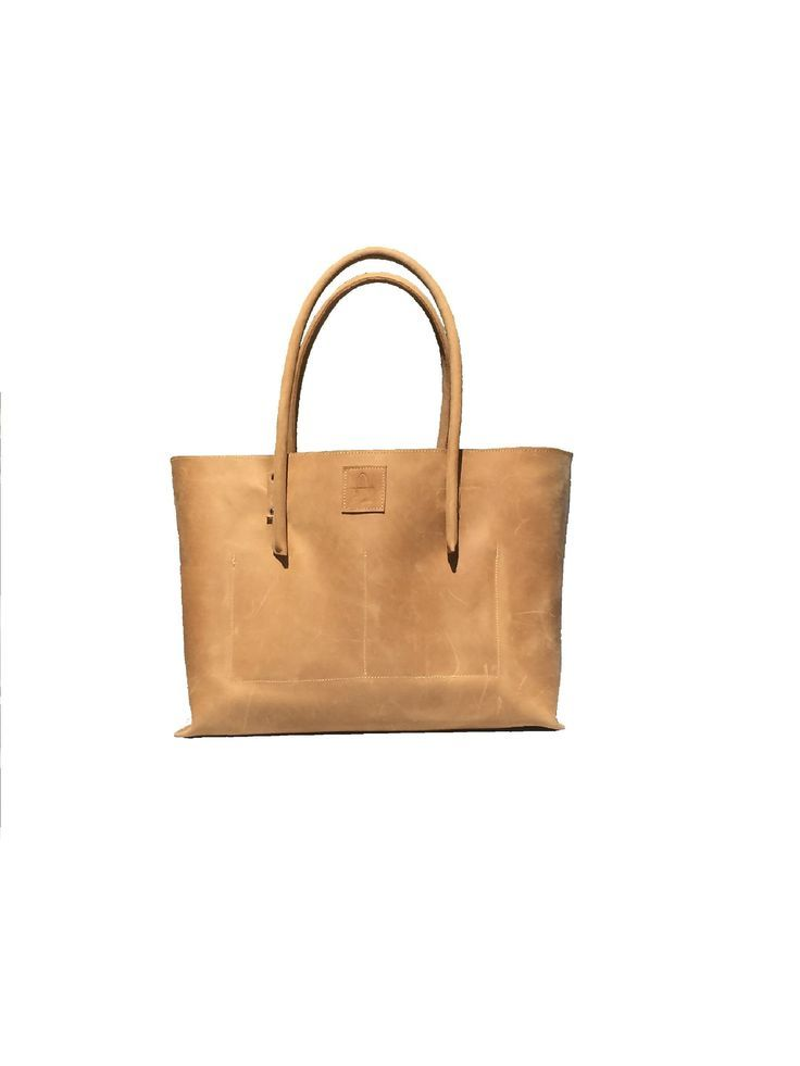 39d9f8079fc9e Large handmade bag made of natural leather! Leather bag Shopper  Ledershopper leather shopper bag bag leather used look handmade  bag   handmade  large ...