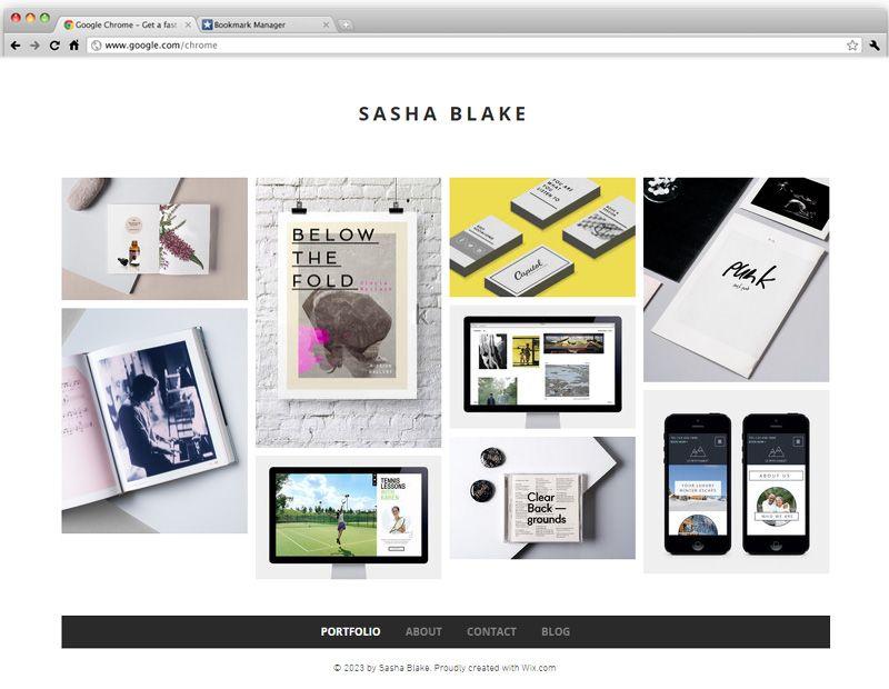 minimal designer portfolio wix website templates pinterest template website and graphic. Black Bedroom Furniture Sets. Home Design Ideas
