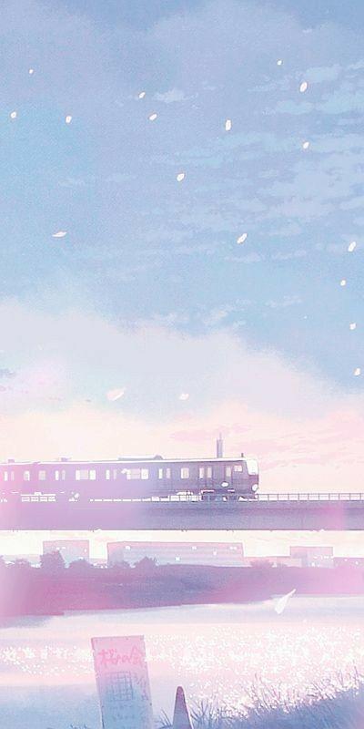 Wallpaper Pemandangan Anime Pemandangan Pemandangan Khayalan