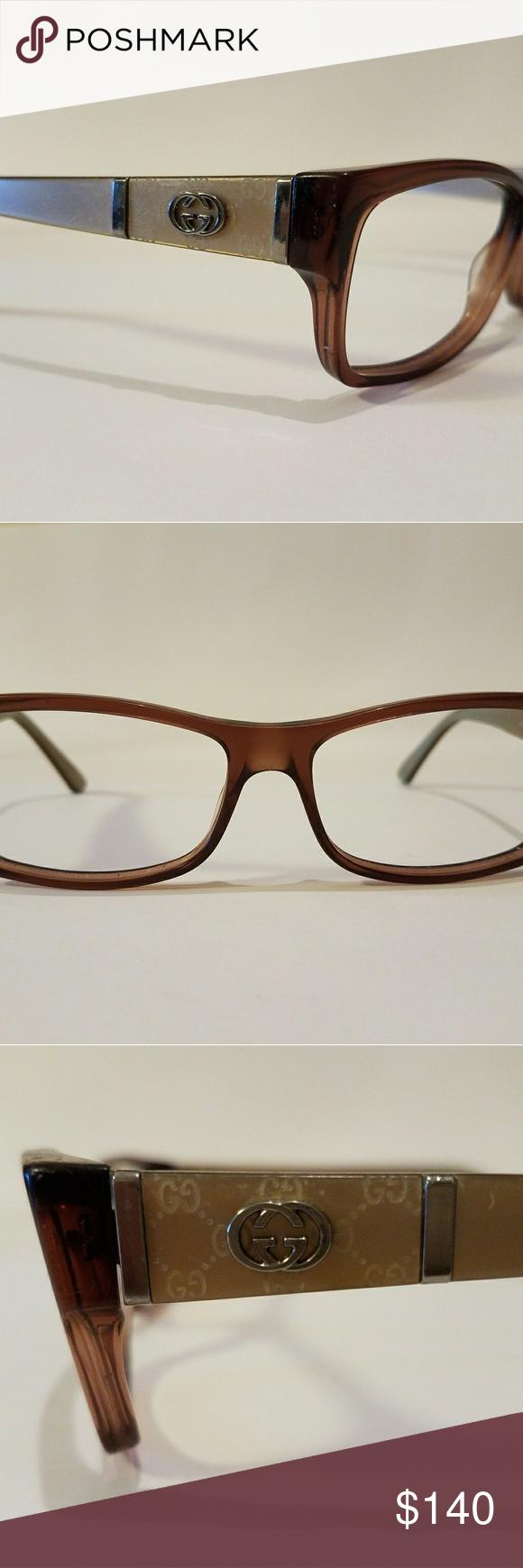 Authentic GUCCI Rx Glasses   Gucci accessories, Gucci and Lenses