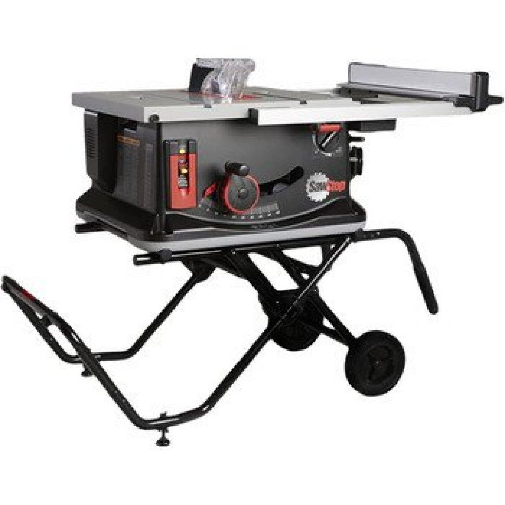 Jss Mca Sawstop Jobsite Table Saw 120v 15a Jobsite Table Saw Best Table Saw Diy Table Saw