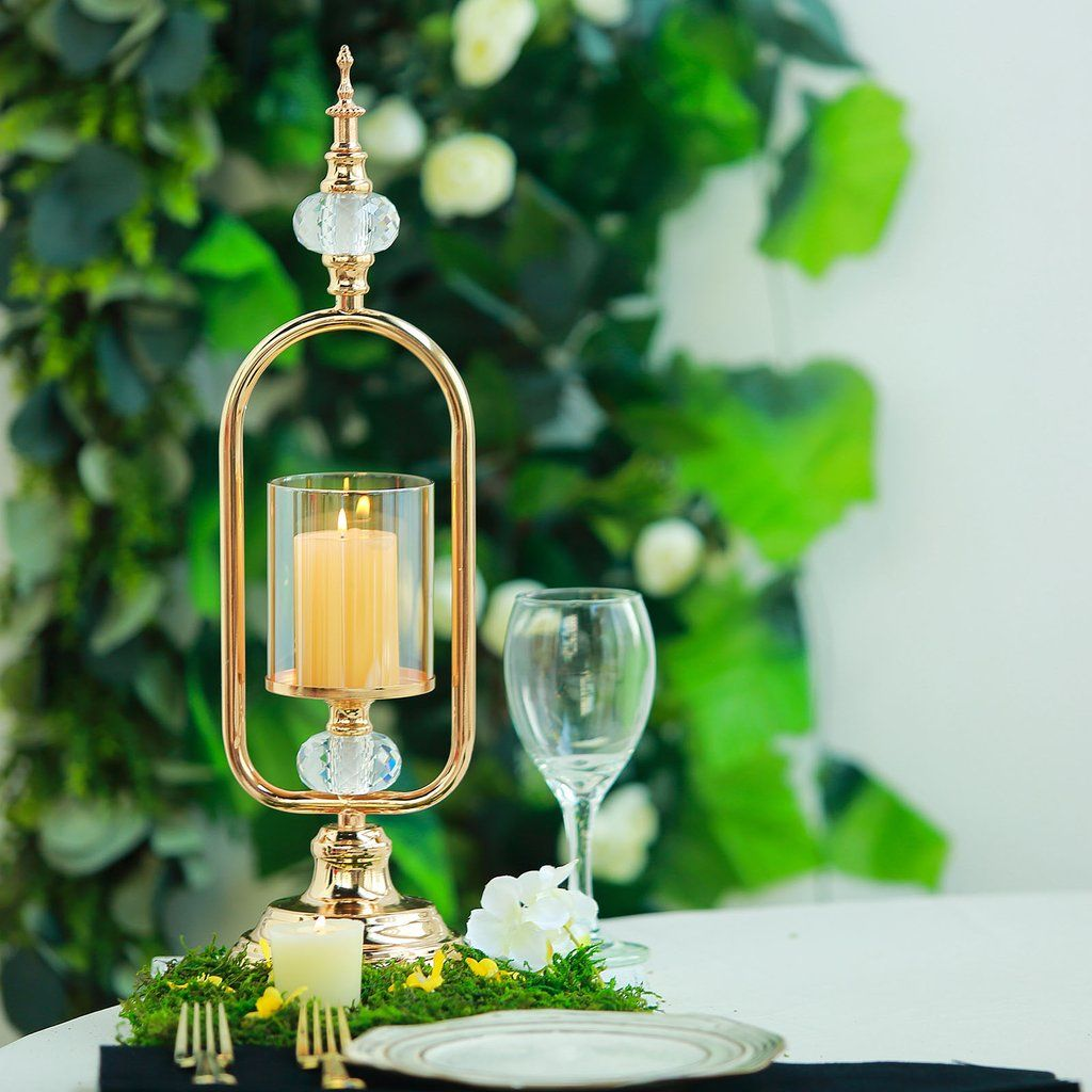 Your Table Will Look Stunningly Beautiful With Our Wedding Centerpieces The Goal Is To Keep Costs Low Metal Candle Holders Candle Holders Wedding Metal Candle