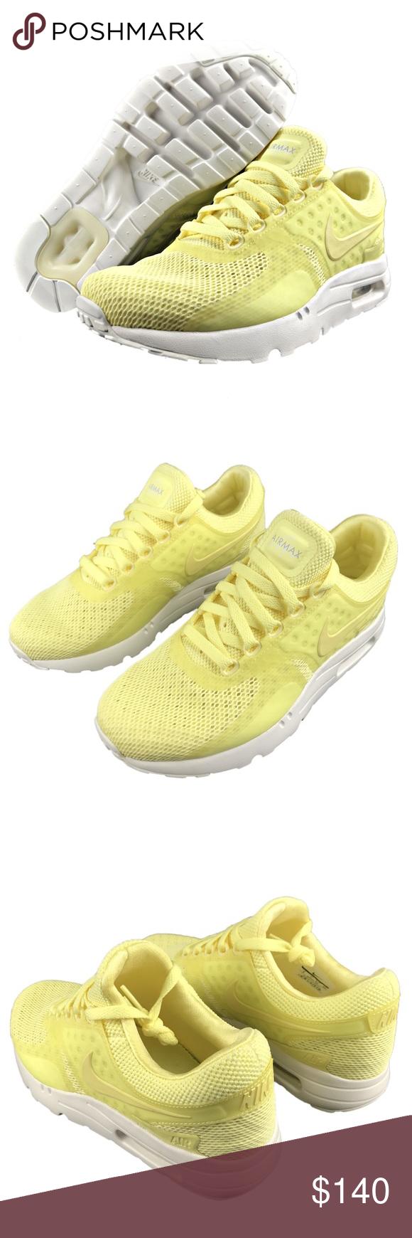 buy online fab03 77c76 Nike Air Max Zero BR Breeze Lemon Chiffon White NWT
