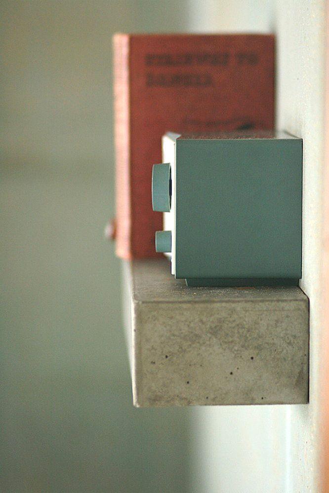 Polished Concrete Floating Shelf Small Industrial Rustic Modern. $165.00, via Etsy.